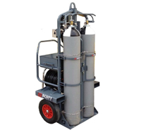 3M Scott Safety ModulairMax Large Capacity Airline Trolley System