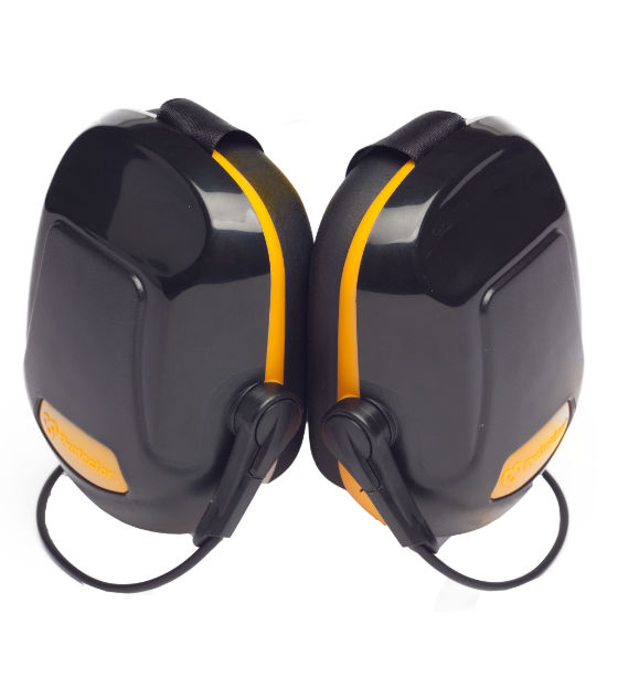 Scott Zone 1 Helmet Mounted Ear Defender Yellow