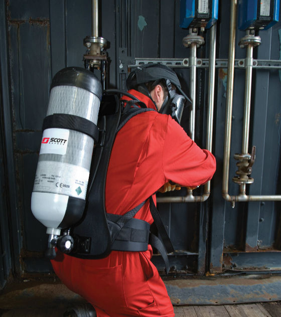 3M Scott Safety ACSi Self-Contained Breathing Apparatus