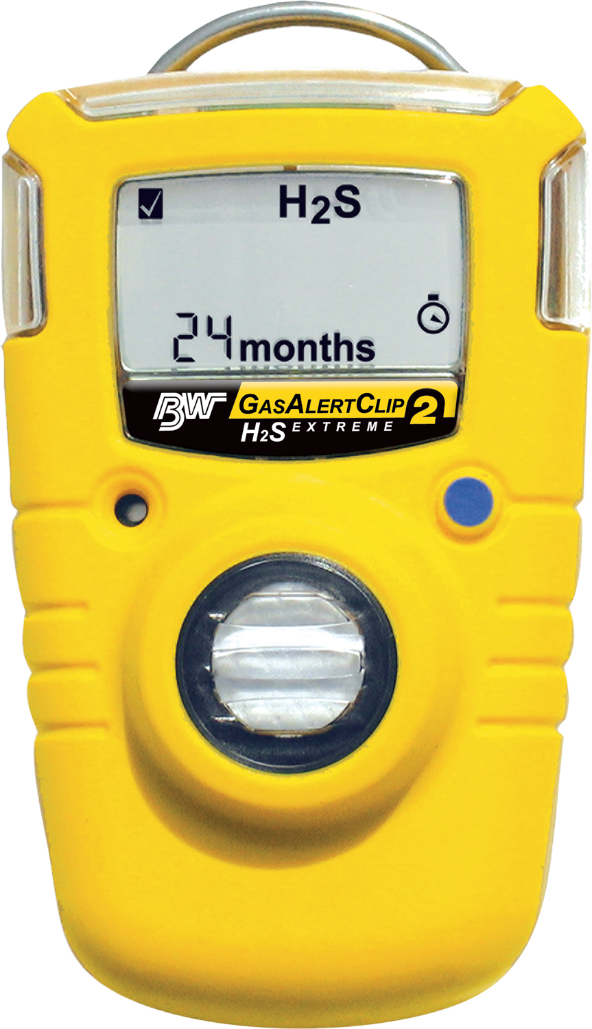 Hydrogen On Demand >> BW Gas Alert Clip Extreme Single Gas Detector