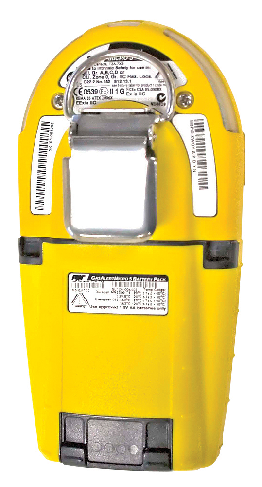 bw gas alert clip 2 h2s extreme manual