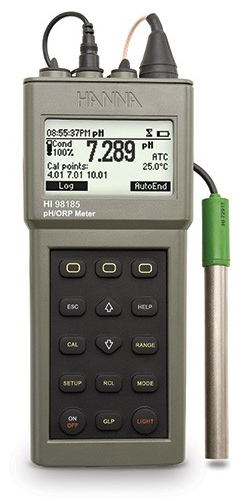 HI-98185 Waterproof pH/ORP/ISE Meter [HI-98185]
