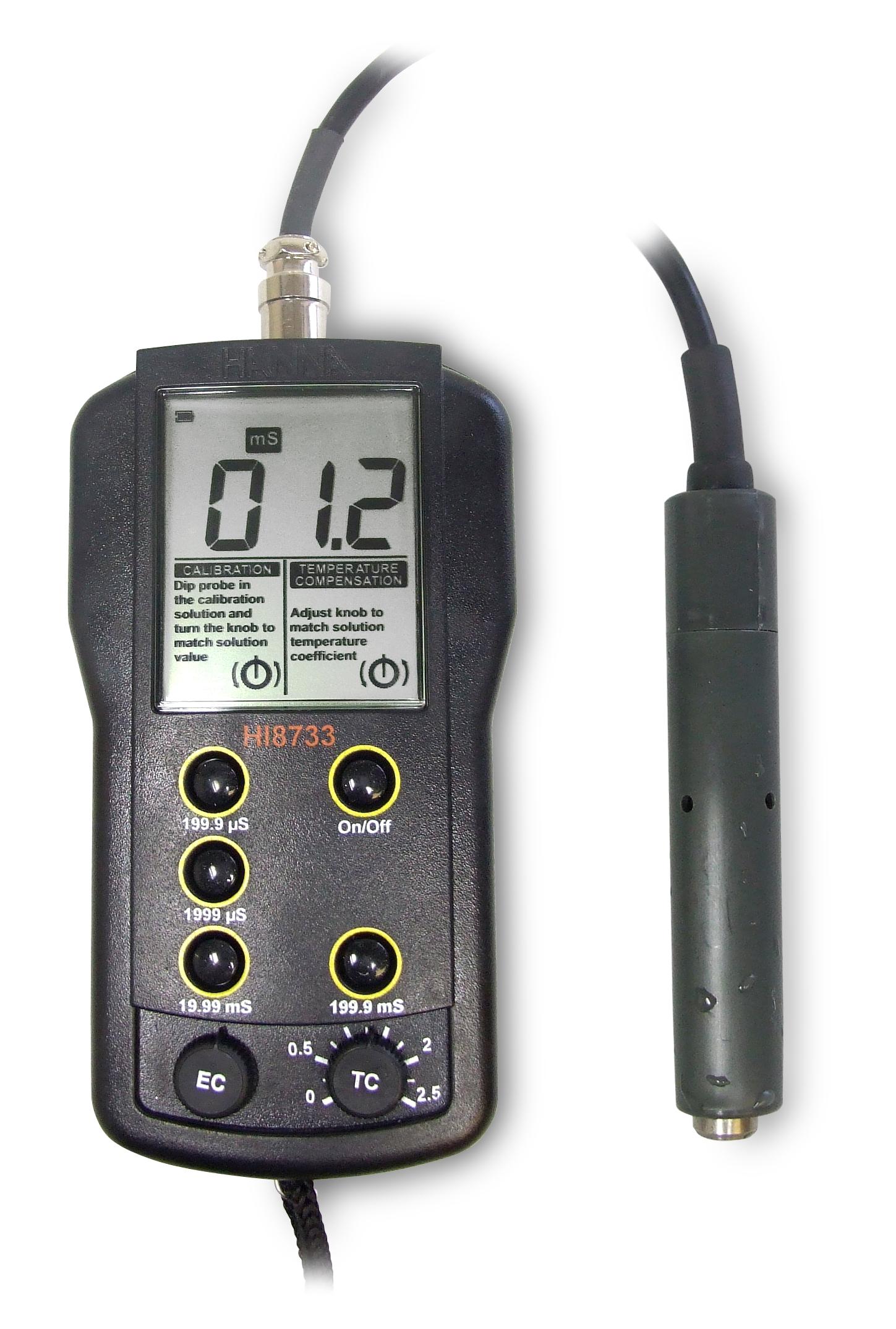 Deionized Water Resistivity Meter : Harga jual hanna instruments hi n multi range