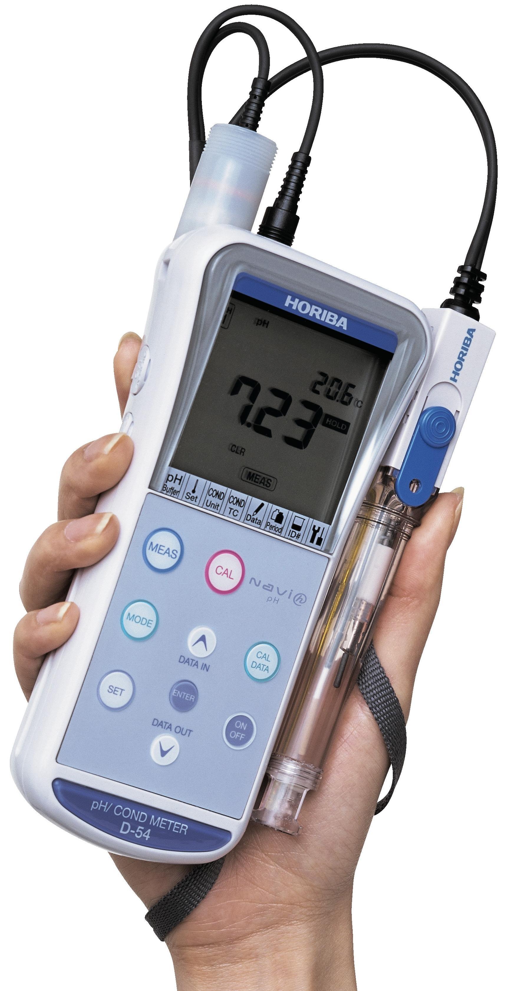 Horiba B 173 Conductivity Meter : Horiba d series handheld water quality meters