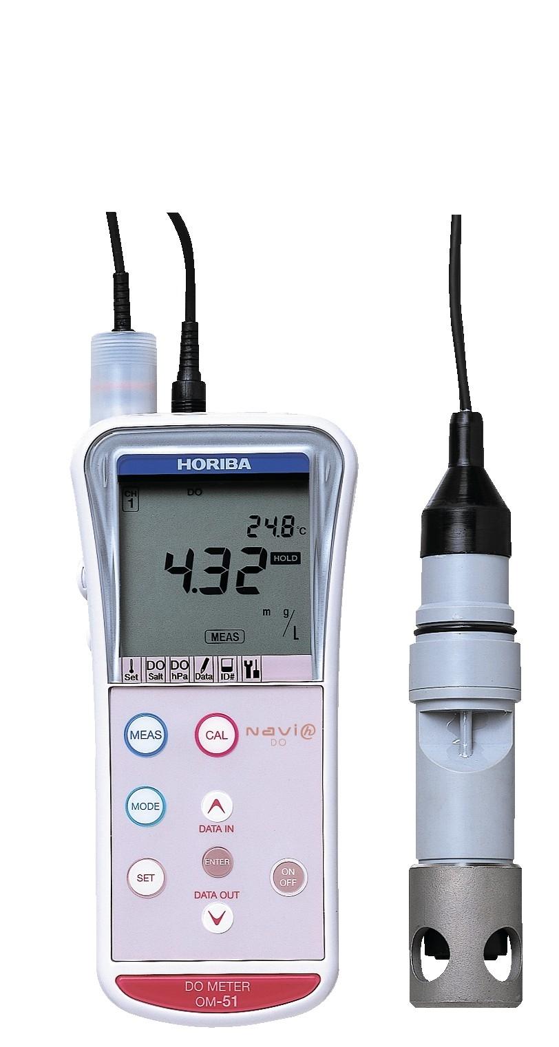 Horiba B 173 Conductivity Meter : Horiba om portable dissolved oxygen meter