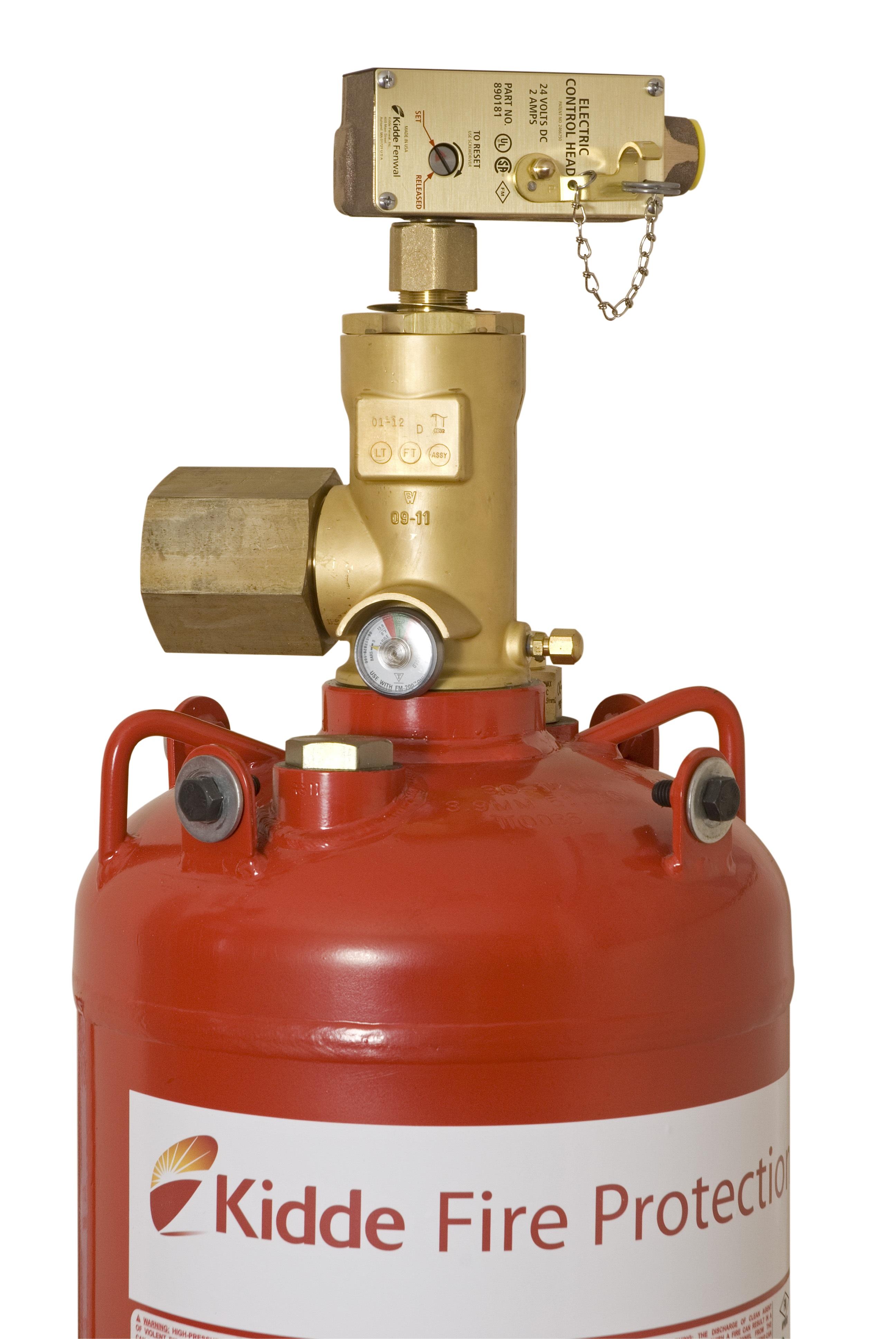 Kidde Gx 20 With Fm 200 Fire Extinguishing System