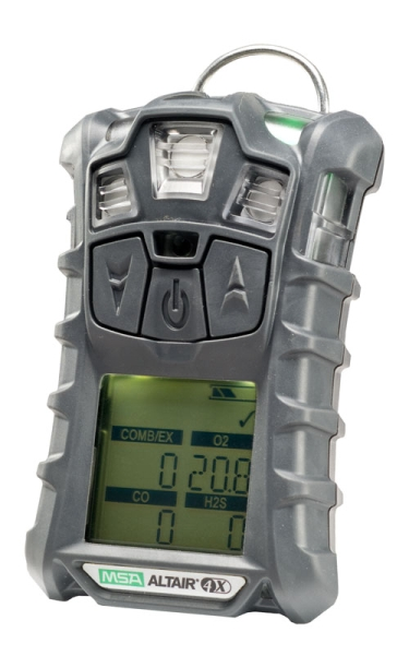No Charger MSA altair 4X multi gas Monitor detector O2,H2S,CO,LEL calibrated