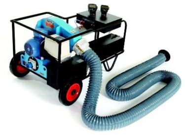 duct pressure testing machine