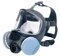 3M Scott Safety Promask2 Twin Filter Full Face Mask