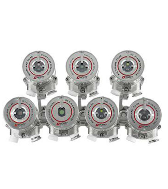 3M Scott Safety FLAMEVision FV-40 Series Flame Detectors