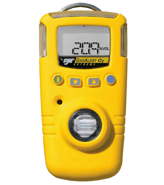 BW Gas Alert Extreme Single Gas Detector