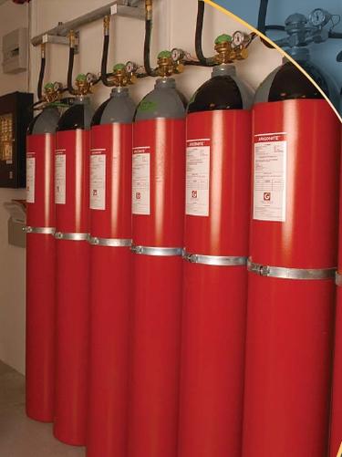 Kidde Argonite Inert Gas Fire Suppression System