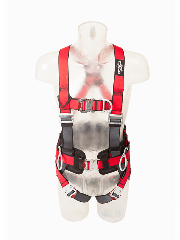 Protecta Pro Harness With Belt & QC Buckles