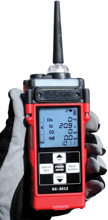 RKI Instruments GX-2012 Confined Space, Purge & Barhole Gas Monitor