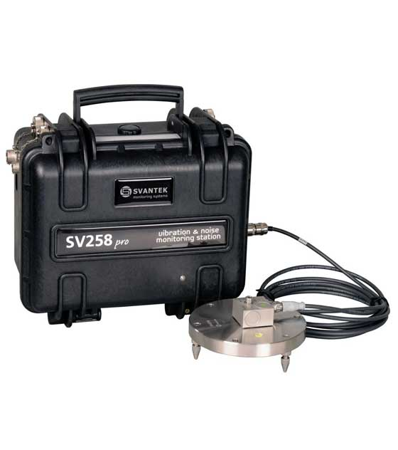Svantek SV 258 PRO Vibration & Noise Monitoring Station