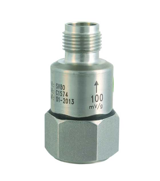 Svantek SV 80 General Purpose Accelerometer 100mV/G