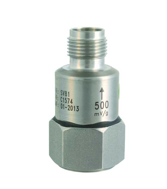 Svantek SV 81 General Purpose Accelerometer 500 MV/G