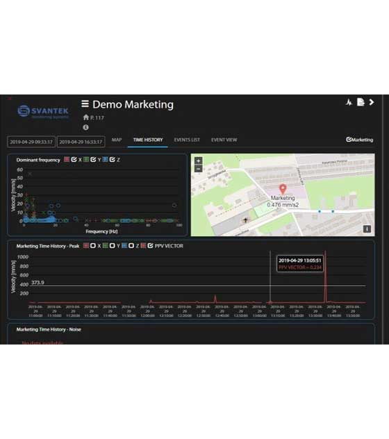 Svantek SvanNET 3.0 Cloud Monitoring Service