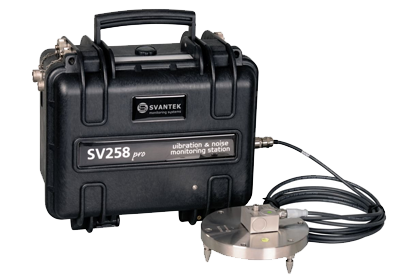 Svantek Vibration Monitoring